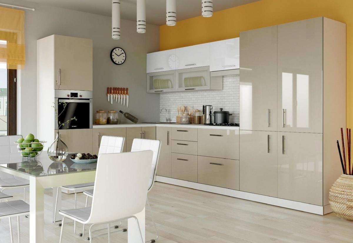 кухня хай глосс фото дизайн придуман совсем